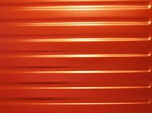 czerwony metali Zdjęcie Royalty Free