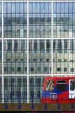 Czerwony metro Zdjęcie Stock