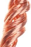 Czerwony miedzianego drutu przemysł Obraz Royalty Free