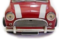 czerwony mini - wielkiej brytanii Fotografia Stock