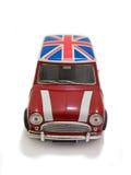 czerwony mini - wielkiej brytanii Zdjęcie Royalty Free