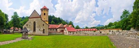 Czerwony monaster zdjęcie stock