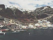 Czerwony morze Grecja Obraz Royalty Free
