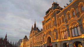 czerwony Moscow kwadrat Russia zbiory wideo