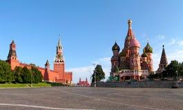 czerwony Moscow strefy Obrazy Stock