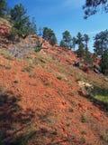 czerwony mountain Zdjęcie Royalty Free