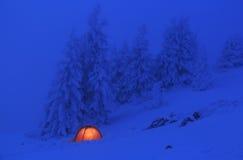 czerwony namiot Fotografia Stock