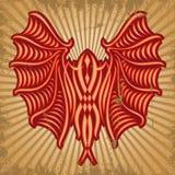 Czerwony nietoperz Fotografia Stock