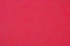 Czerwony nonwoven tkaniny tło Fotografia Stock