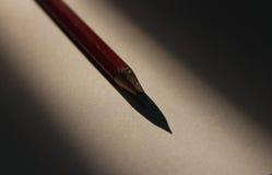 Czerwony Ołowiany ołówek Zdjęcia Royalty Free