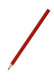 Czerwony ołówek Fotografia Stock