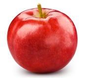 czerwony odosobnione white jab?ko obrazy stock