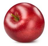 czerwony odosobnione white jab?ko obrazy royalty free