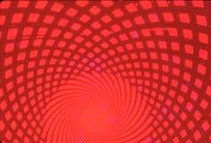 Czerwony okulistyczny wzór Zdjęcia Royalty Free