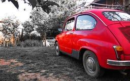 Czerwony oldtimer Zdjęcie Stock