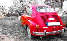 Czerwony oldtimer Obrazy Royalty Free