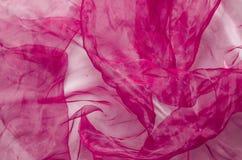 Czerwony organza Fotografia Royalty Free