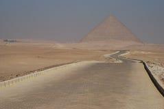 Czerwony ostrosłup. Dahshur, Egipt Zdjęcia Royalty Free