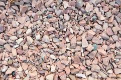Czerwony ostrze dryluje granit verdure pozyskiwania środowisk gentile Obraz Stock