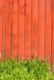 czerwony płotowa Zdjęcie Royalty Free