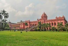 Czerwony pałac Zdjęcie Royalty Free