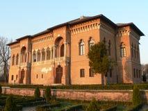 czerwony pałacu. zdjęcie stock