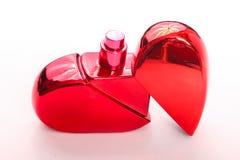 Czerwony pachnidło dla nowożytnych kobiet zdjęcie stock