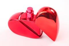 Czerwony pachnidło dla nowożytnych kobiet zdjęcie royalty free