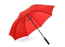 Czerwony parasol   Fotografia Royalty Free