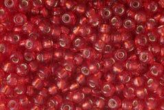 czerwony pearl obraz stock