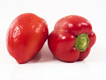 czerwony pieprzowa Obraz Stock