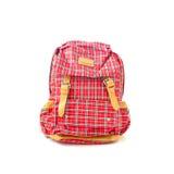 Czerwony plecak Obraz Royalty Free