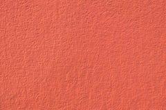 Czerwony plenerowy tynk Fotografia Stock