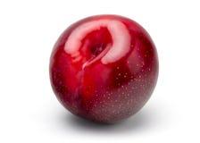 czerwony plum świeże Zdjęcia Royalty Free