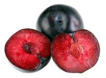 czerwony plum Fotografia Royalty Free