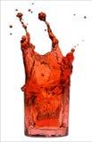 czerwony plusk Zdjęcia Stock