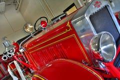 Czerwony Pożarniczy silnik Zdjęcie Royalty Free