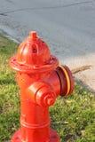 Czerwony Pożarniczy hydrant Obraz Royalty Free
