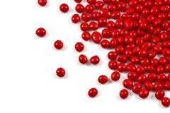 Czerwony polimeru żywica fotografia stock