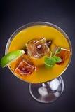 Czerwony pomarańczowy koktajl Zdjęcia Royalty Free