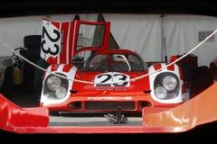 Czerwony Porsche 917 K Obraz Stock