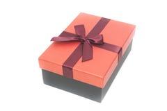 Czerwony prezenta pudełko Obraz Stock