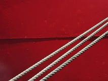 czerwony prosta Obraz Stock