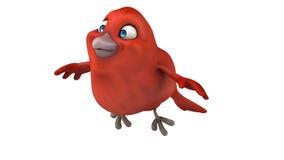 Czerwony ptak royalty ilustracja