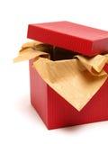 czerwony pudełkowata Fotografia Royalty Free