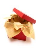czerwony pudełkowata Zdjęcia Royalty Free