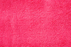 czerwony ręcznik Zdjęcia Royalty Free