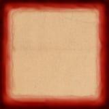 czerwony ramowy rocznik royalty ilustracja