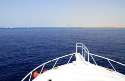 czerwony rejsu morze Obraz Royalty Free