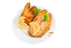 Czerwony rybi naczynie Fotografia Stock